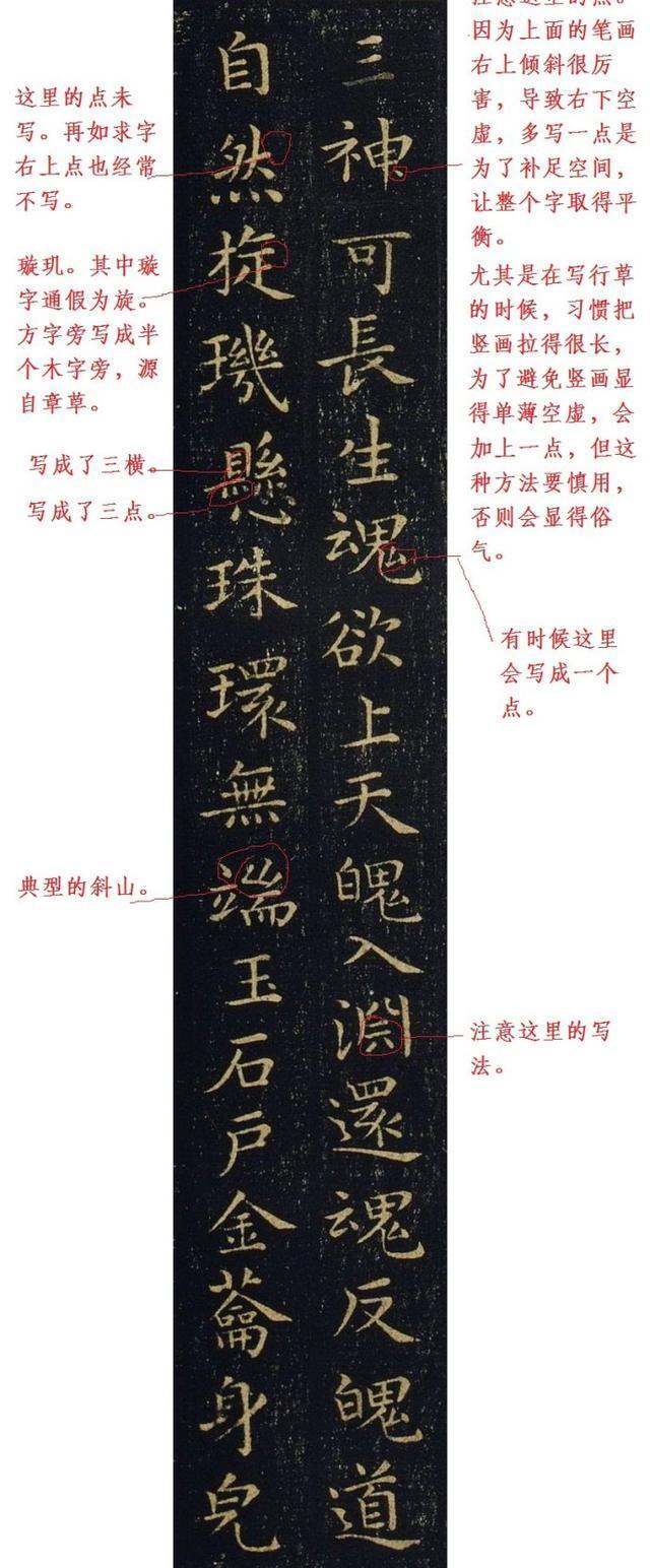 楷書的點橫豎撇捺各應該怎樣寫?怎樣組合?