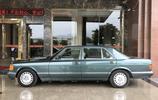 80年代奔馳S級轎車的經典之作,實拍第六代奔馳W126