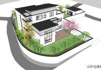 安徽56萬現代別墅帶車庫佛堂,開敞設計大氣十足,還有屋頂隔熱!