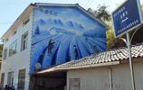 湖北宜昌:農房牆畫拾趣 農民耕田播種茶籽 茶葉富農家