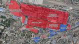 蘭州七里河這幾個老廠區現狀  有的項目已開建 一些廠區還未搬遷