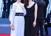 《戰狼2》女主盧靖姍和徐嬌出席威尼斯電影節,徐嬌還是太年輕