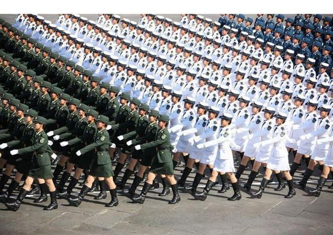 實拍 最美的中國女兵,最後一張讓你心跳跳