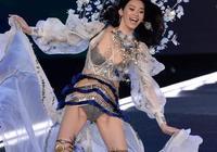 奚夢瑤,那個在維密舞臺摔倒的女孩,希望她在情感中不摔跤
