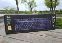 原廠軸+單色背光,雷柏又推出一款新品V805遊戲競技鍵盤