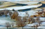 新疆兵團:冬日的塔里木 風景美如畫