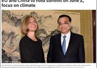 外媒:中國要求提前開中歐峰會 施壓美國維護氣候協定