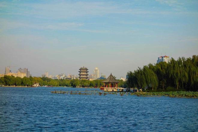 風景圖集:濟南,一個被稱為泉城的地方