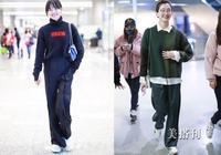 簡約氣質的毛衣搭配闊腿褲,是通勤女神開春的首選穿搭