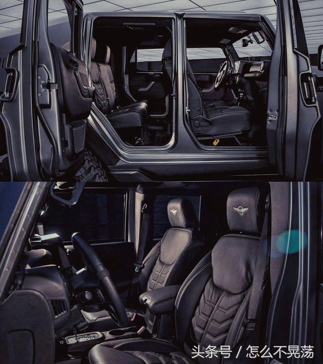 TankHemi 6.4升V8引擎 507馬力的巨獸,我咋看出了奔馳G級的影子