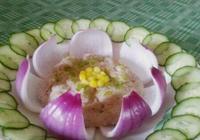 美食做法——蓮花蒸肉餅和韓式鱈魚燉蘿蔔