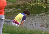 中國高爾夫球手歐巡賽怒撅球杆 母親竟下水去撿