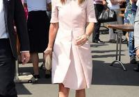 凱特王妃妹妹看溫網放大招終於美了!穿粉裙高貴減齡,果然要打扮