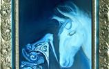 油畫圖集 動物油畫