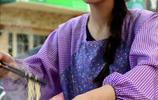 """工作之餘 """"90後""""高顏值女孩練攤做串串 被稱為""""串串西施"""""""