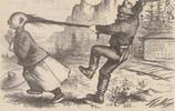 清朝落後的後果,一百多年前美國報紙辱華舊照,有些問題今仍存在