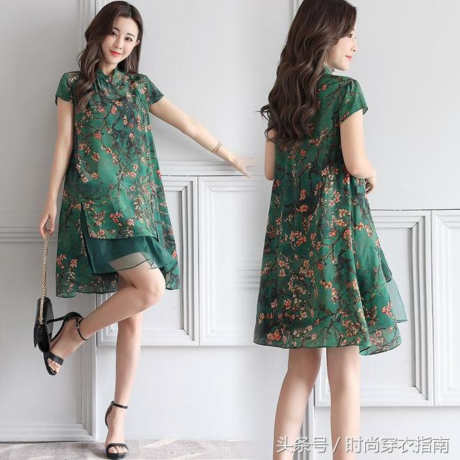 30~58歲女人別穿收腰裙,不符合你成熟氣質還容易暴露贅肉,寬鬆版連衣裙更適合你,遮肉顯瘦更優雅洋氣