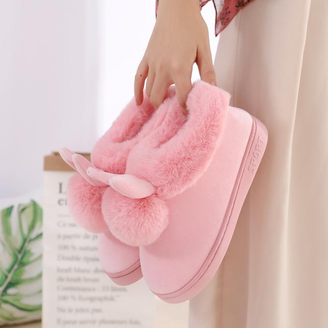 天氣有冷了!新款保暖棉拖鞋一路走紅,居家穿又暖又舒適