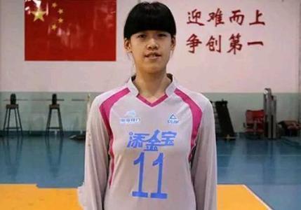 年僅16歲就入選女排國家隊試訓李盈瑩,她會是下個朱婷嗎?