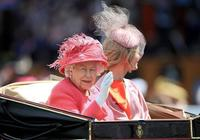 被逐出王室的英國公主媽媽亮相,穿黃裙向女王賣力行屈膝禮顯老態