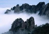 雲海翻騰九華山