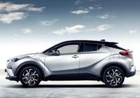 不能小看的一款SUV,外觀漂亮油耗低,豐田CH-R很有魅力