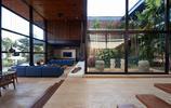 住宅設計:外表低調含蓄,內部高端大氣的景觀中庭鋼結構別墅豪宅