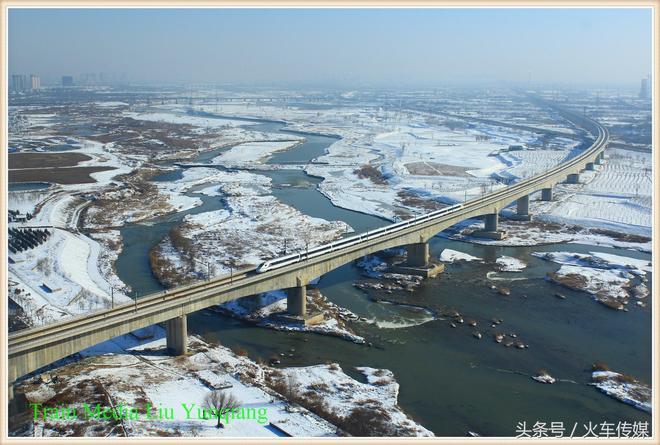 徐蘭高鐵咸陽渭河鐵路橋圖集1