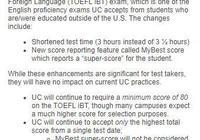 """加州大學不接受託福""""拼分""""!2024er UC申請解析"""