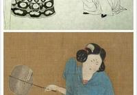 趙佶臨摹《搗練圖》白描稿