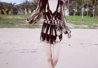 李小璐晒沙灘美照,美出新邊際,網友:簡直就是小仙女