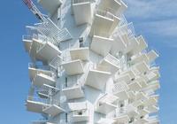 """藤本壯介在法國設計的""""白樹""""住宅,一幢大型不規則建築"""