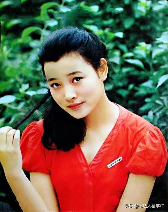 陳沖,17歲成為影后,12張老照片盡顯當年的少女情懷