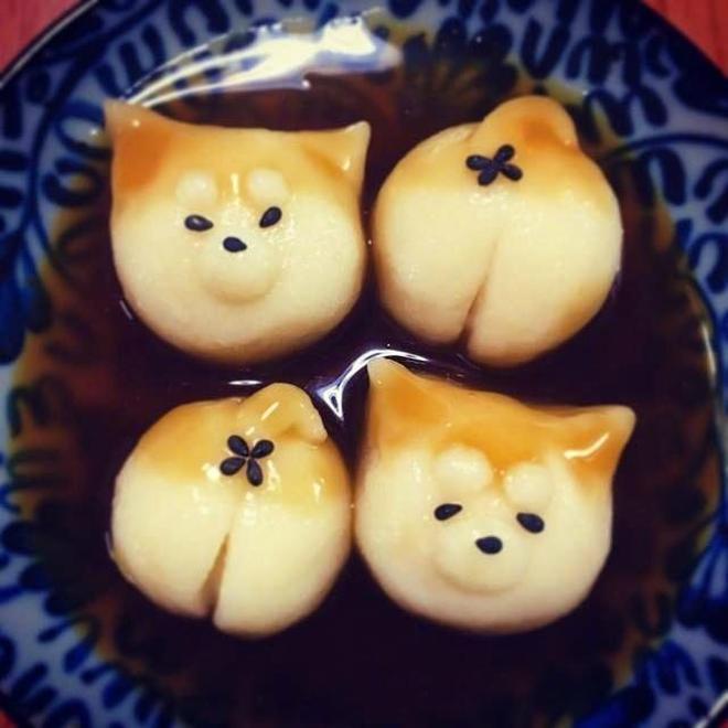 柴犬糰子|美味又可愛的柴犬糰子,有沒有想養一隻一樣的柴柴呢?