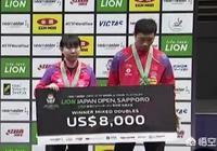 許昕/朱雨玲摘得日本公開賽混雙冠軍。他們兩人分別能獲得多少獎金呢?