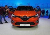 全新雷諾Clio實車亮相,內飾充滿科技感,後備箱空間增加至391升