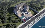 面朝大海的新中式別墅,外有大庭院內有8間大套房,舒適又經典