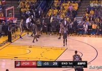 NBA西部決賽第二場,庫裡37+8+8,勇士逆轉114-111再勝開拓者