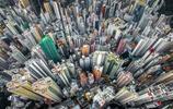 無人機眼裡城市,無人機拍香港