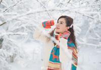 純潔的雪,終究是白了我的整個世界……