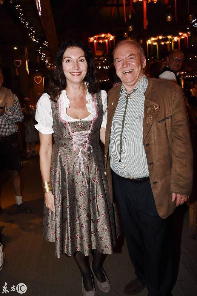 慕尼黑啤酒節,帕特里克、達妮埃拉出席