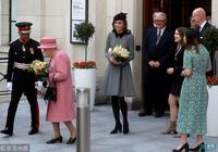 罕見!凱特王妃單獨陪同女王出席活動