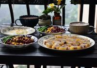 兩口子的假日早餐,只有三樣,都是家人愛吃的,網友說這才是生活