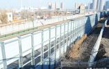 哈牡高鐵即將開通,鐵道旁設立遮音板,防止擾民