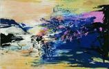 趙無極的抒情油畫藍色系列