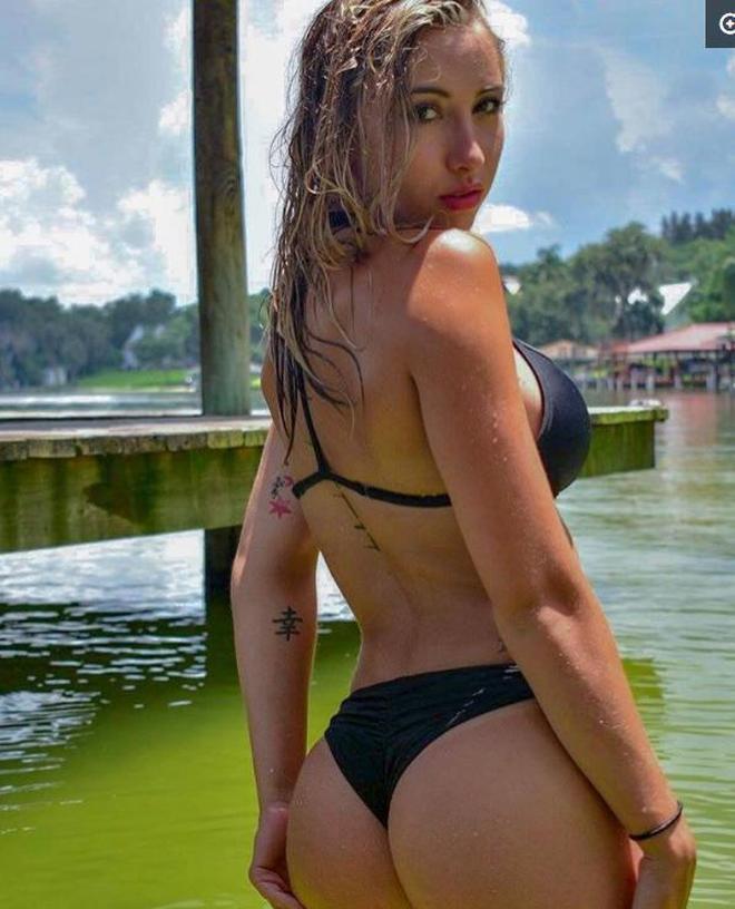 歐美女星海邊度假,何以解憂唯有此種美人