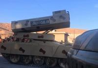 敘南部決戰打響,敘軍開出最強大炮猛轟叛軍:一炮夷平半個村莊