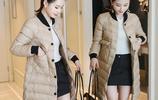 40歲左右女人,穿衣要注重品質,高端大氣羽絨服穿的更有女人味