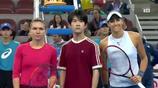 陽光小子TFBOYS-易烊千璽為中網女網單決賽帶來正能量