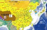 日本人制作的唐朝地圖,那個的時候日本很崇拜我國